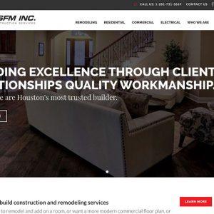 RSFM Construction Launches New Website Design