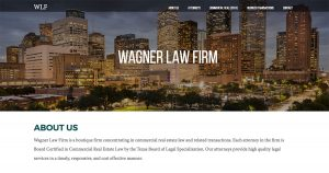 Wagner Legal Launches New Law Firm Website