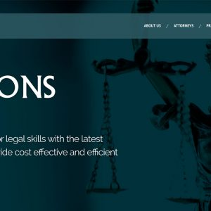 Parsons Law Firm Launches Inaugural Website